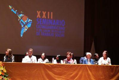 El CONETS realizó con éxito el XXII Seminario Latinoamericano y del Caribe de Escuelas de Trabajo Social