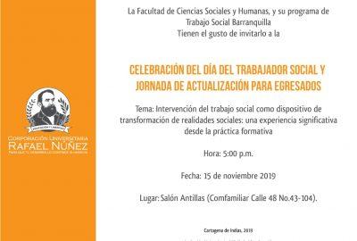 Celebración del día del Trabajador Social y jornada de actualización para egresados