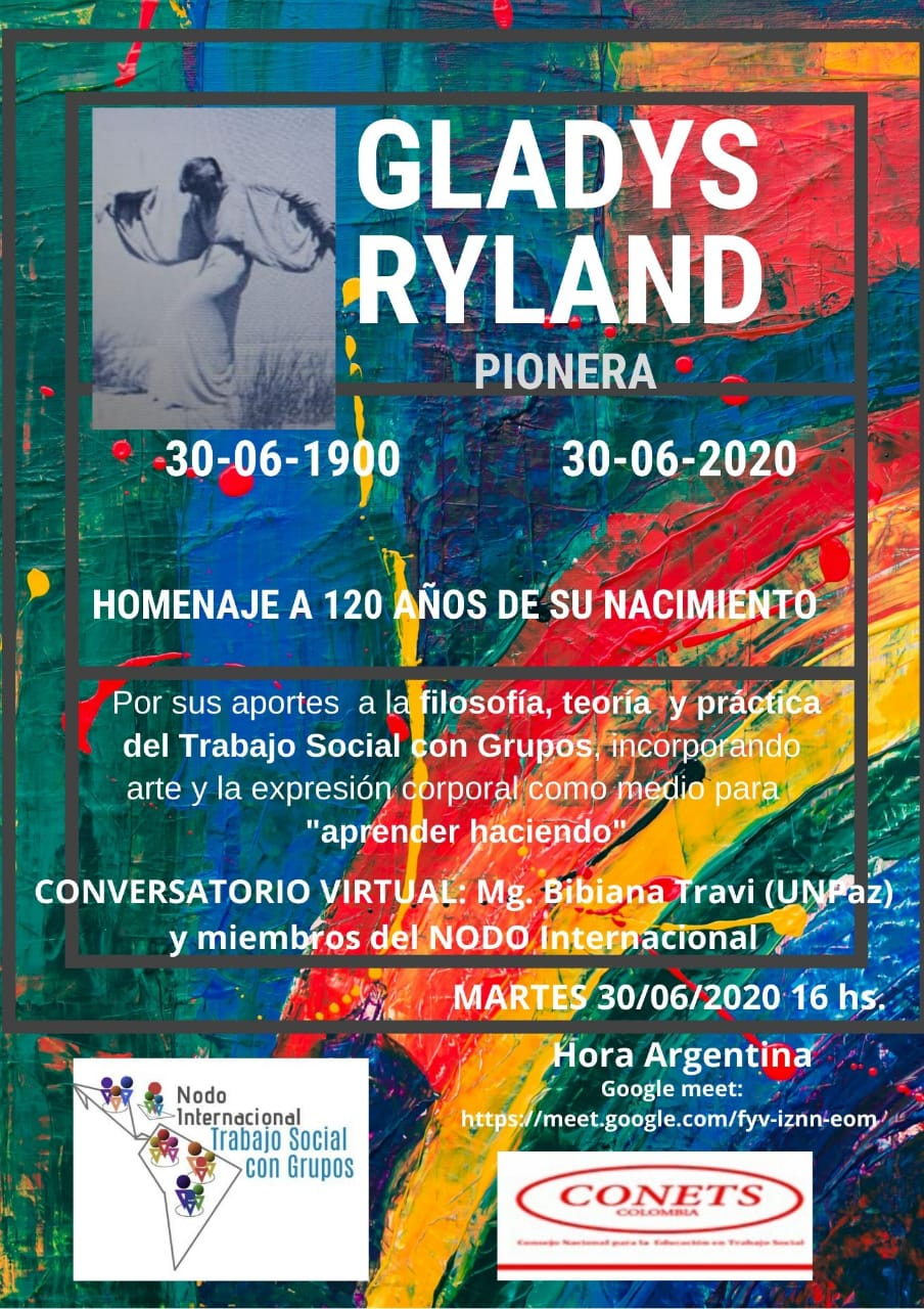 Gladys Ryland – homenaje a 120 años de su nacimiento