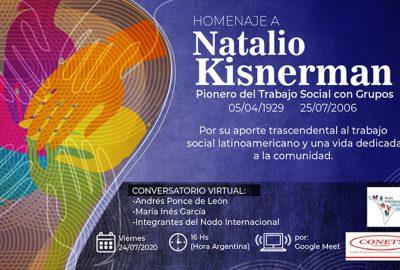 Homenaje a NATALIO KISNERMAN, pionero del Trabajo Social con Grupos